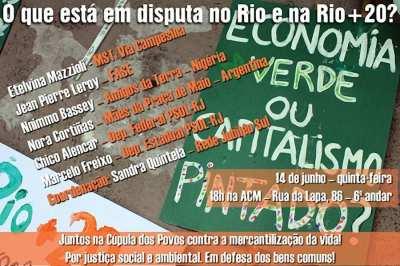 """Ideologia """"vermelha"""" tentará se impor na Rio+20"""